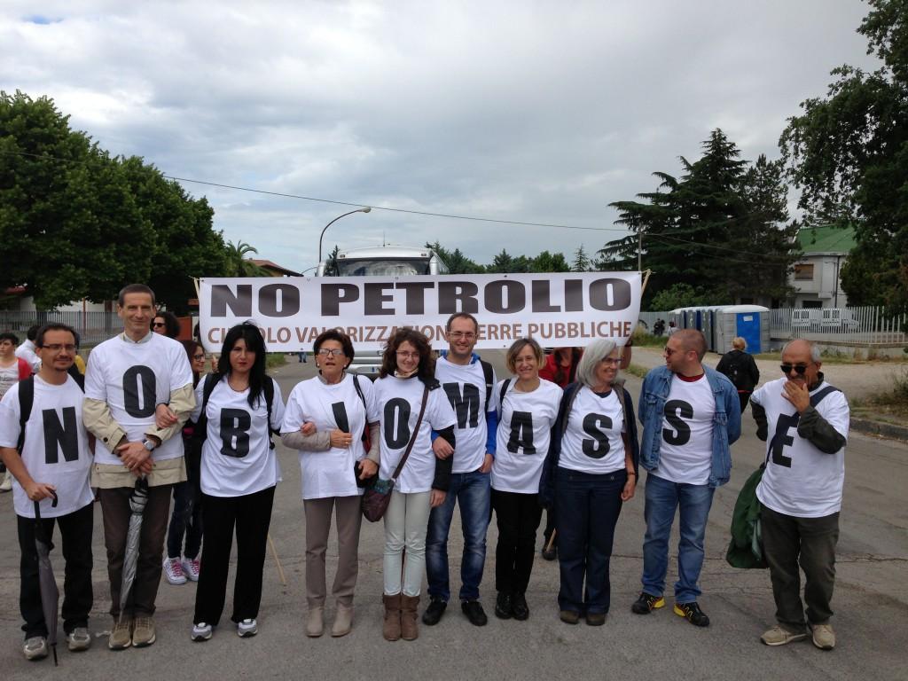 manifestazione 28 agosto 2015 centrale biomasse aquila