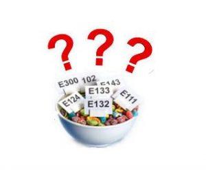 tipologie di additivi alimentari